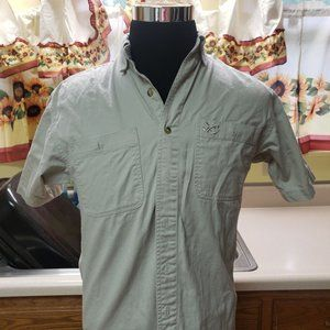 Chase Authentiks Tan Shirt Embroidered Logo